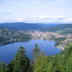 vue du lac de Gérardmer